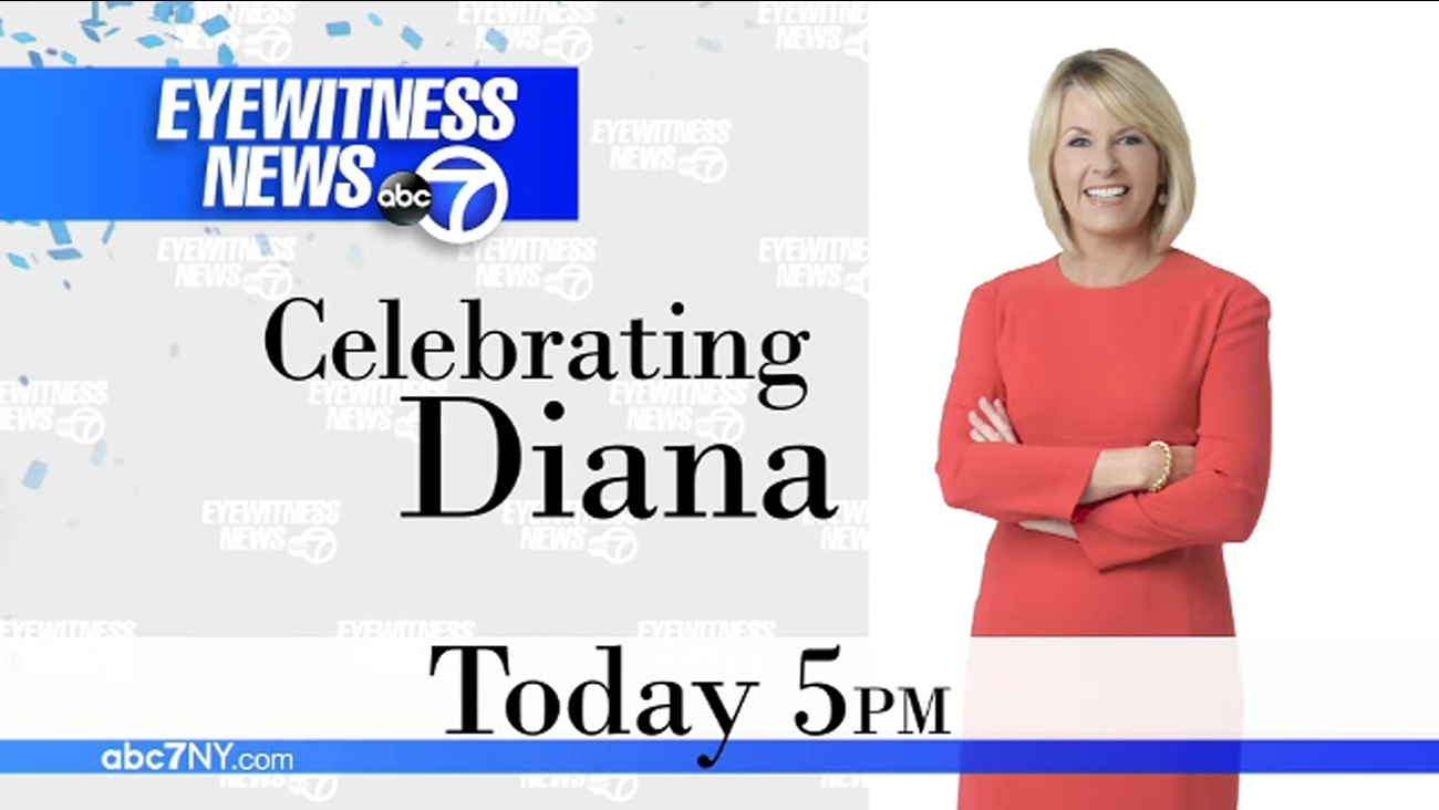 Celebrating Eyewitness News anchor Diana Williams as she