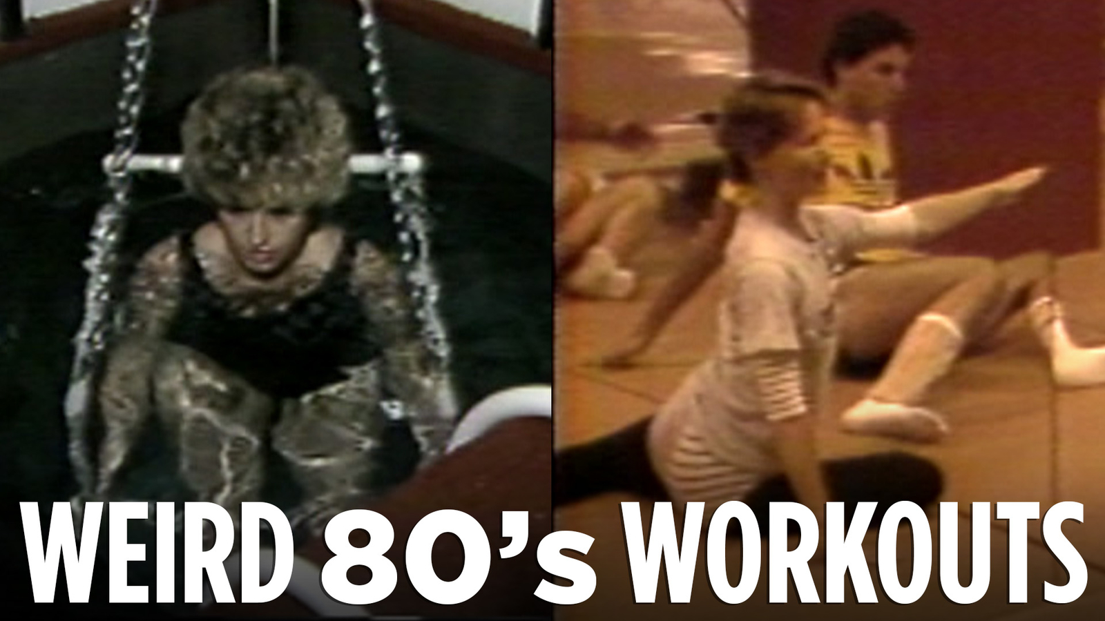 Let's get physical! Tour this 1983 fitness club full of big hair and short shorts