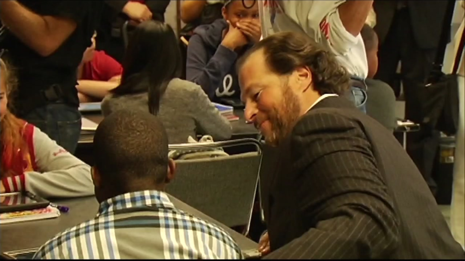 Salesforce CEO Marc Benioff announces $17.2 million donation for schools in SF, Oakland