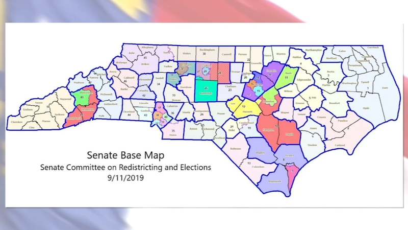 NC map redistricting
