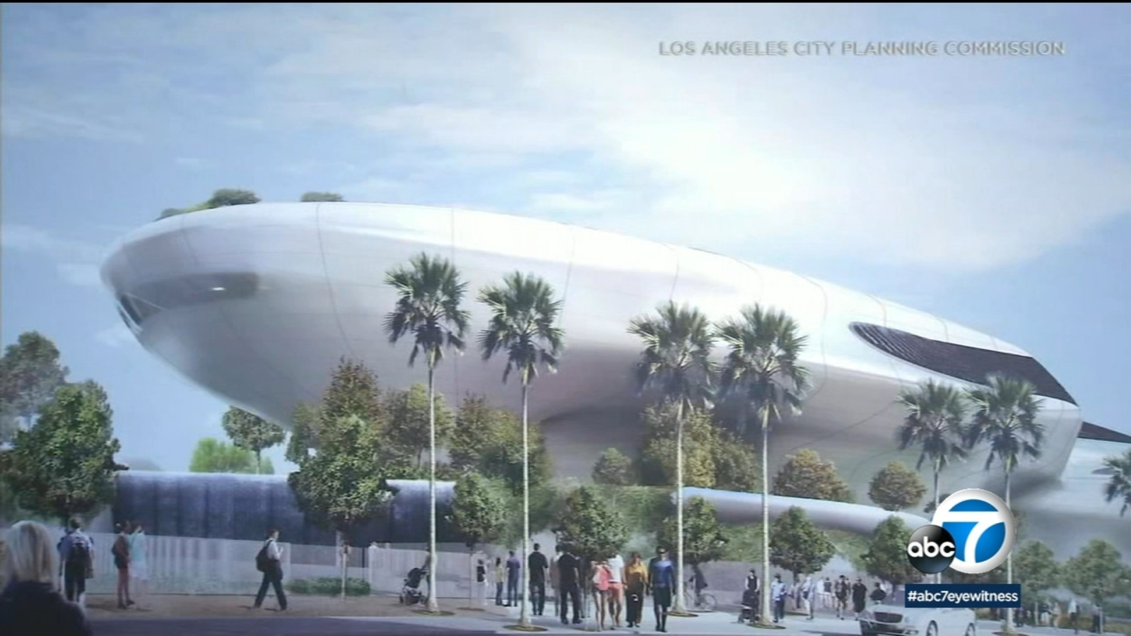 Construction continues on Lucas Museum of Narrative Art in Exposition Park