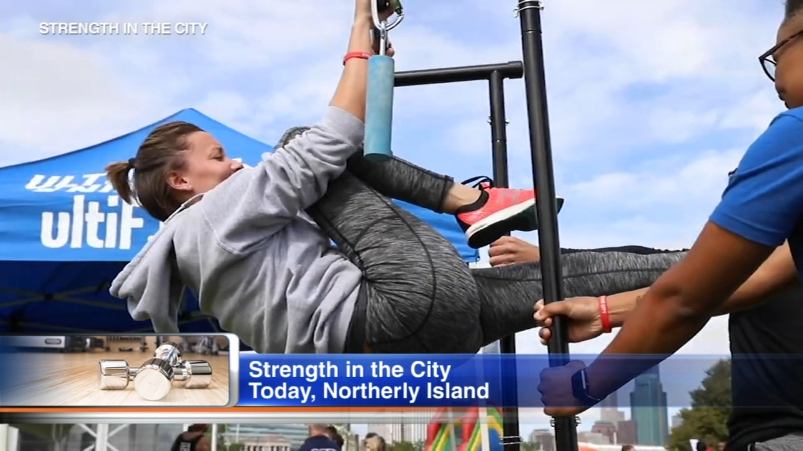 Strength in the City Fitness Festival comes to Northerly Island