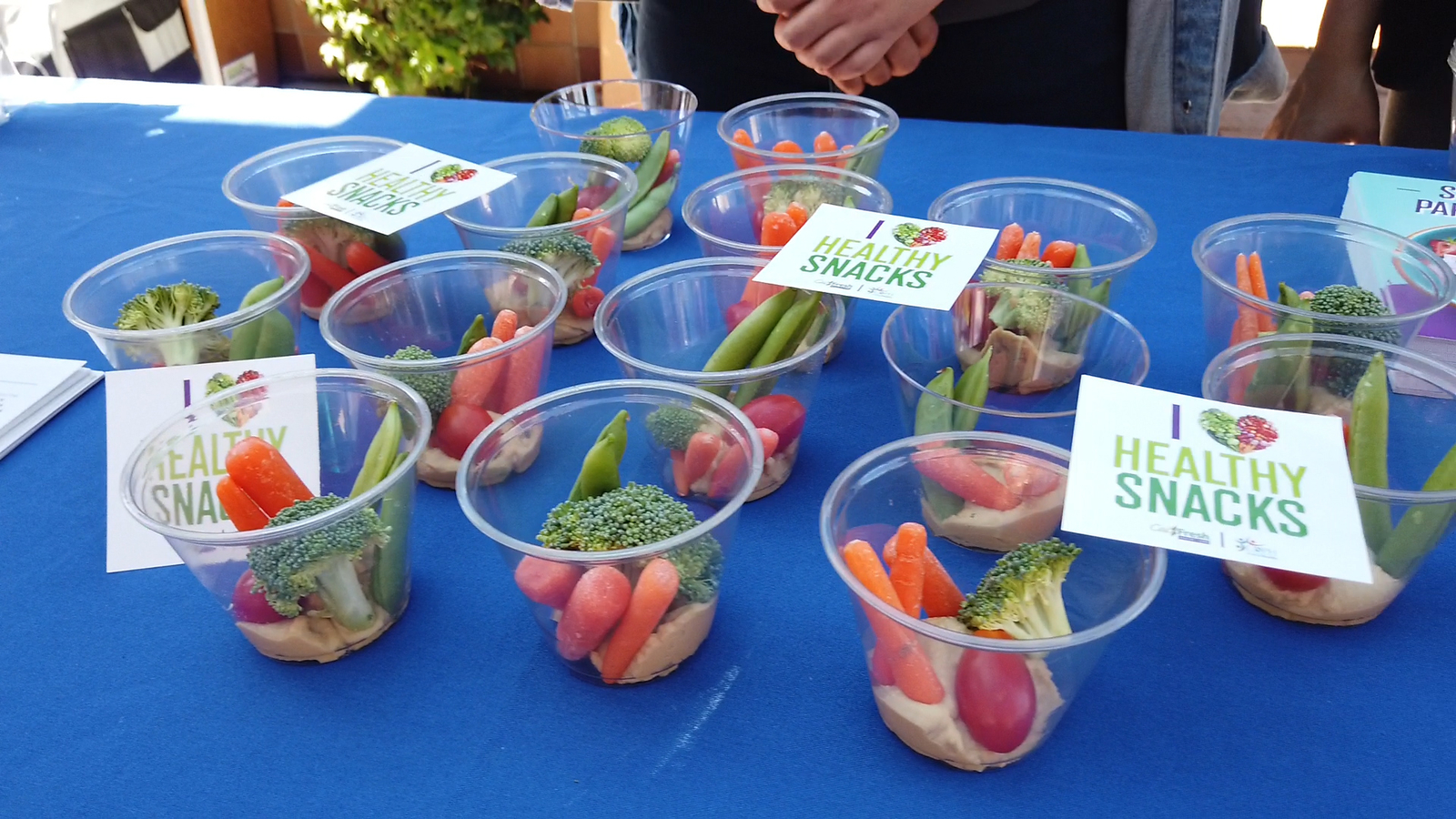 Healthy Snacks and free produce offered at SFV health clinics