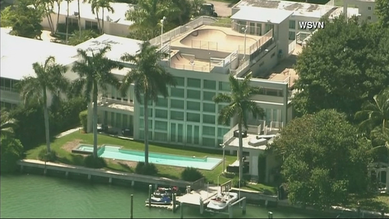 Police responded to the Miami Beach home of rapper Lil' Wayne after receiving an apparent hoax report of shots fired at the waterfront residence on Wednesday, March 11, 2015.