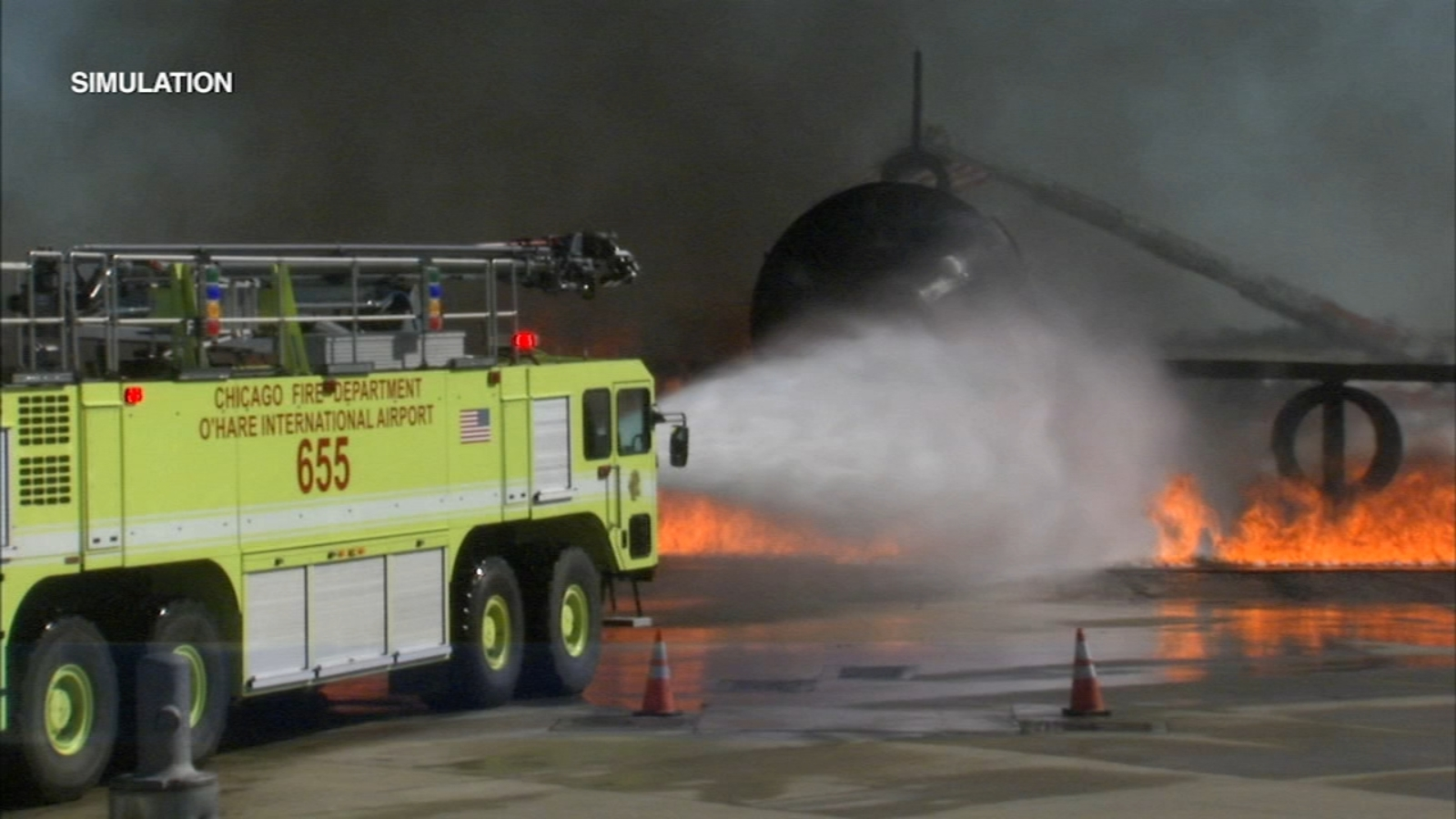 O'Hare emergency exercise turns airport into planned disaster area