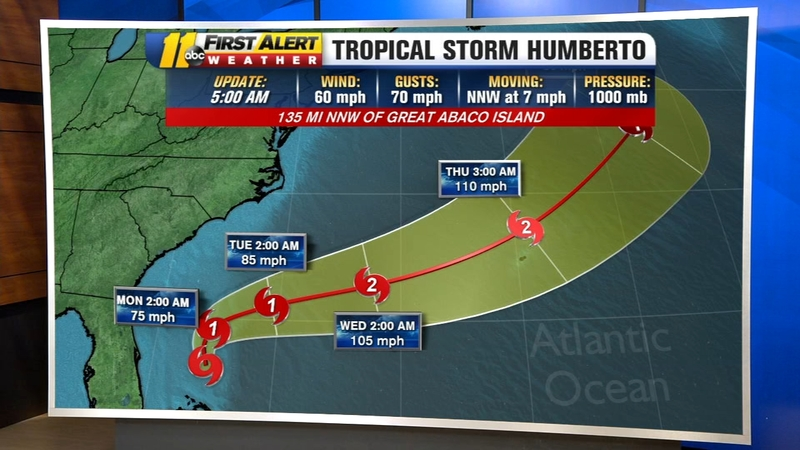 Tropical Storm Humberto to turn away from the United States ... on orange island map, large island map, tropical islands to visit, strawberry island map, sand island map, rugen island germany map, peter island map, sea island map, tropical resorts, tropical islands around the world, fruit island map, water island map, tropical islands germany, caribbean map, tropical home, island nation map, palm island map, tropical weddings, sunset island map, hawaiian islands map,