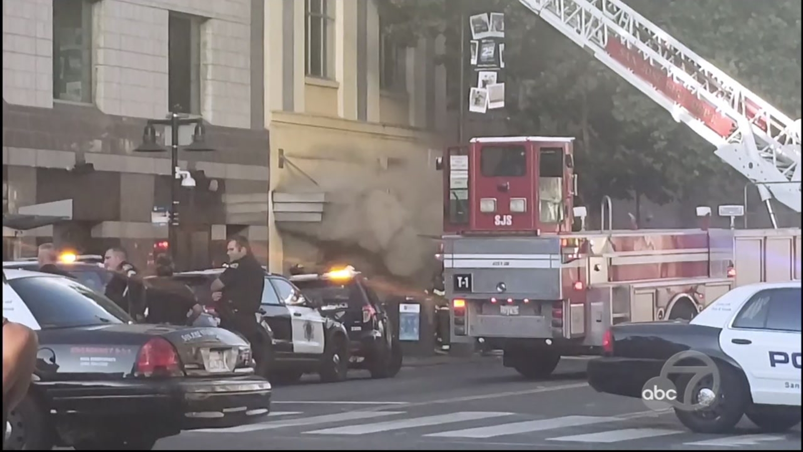 Arson suspected in 3-alarm fire in Downtown San Jose, authorities say