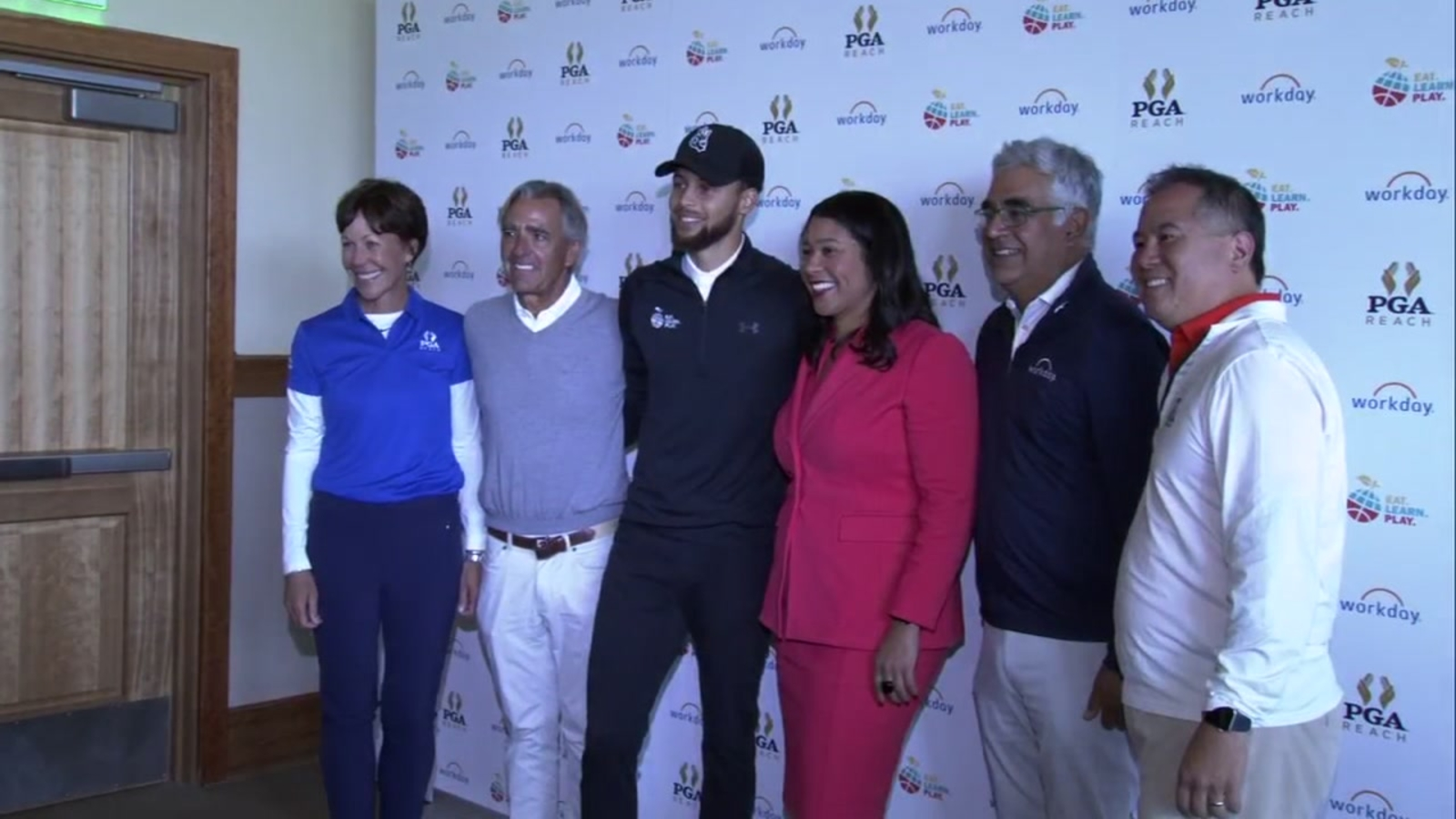 Stephen Curry hosts charity golf event in San Francisco's Harding Park