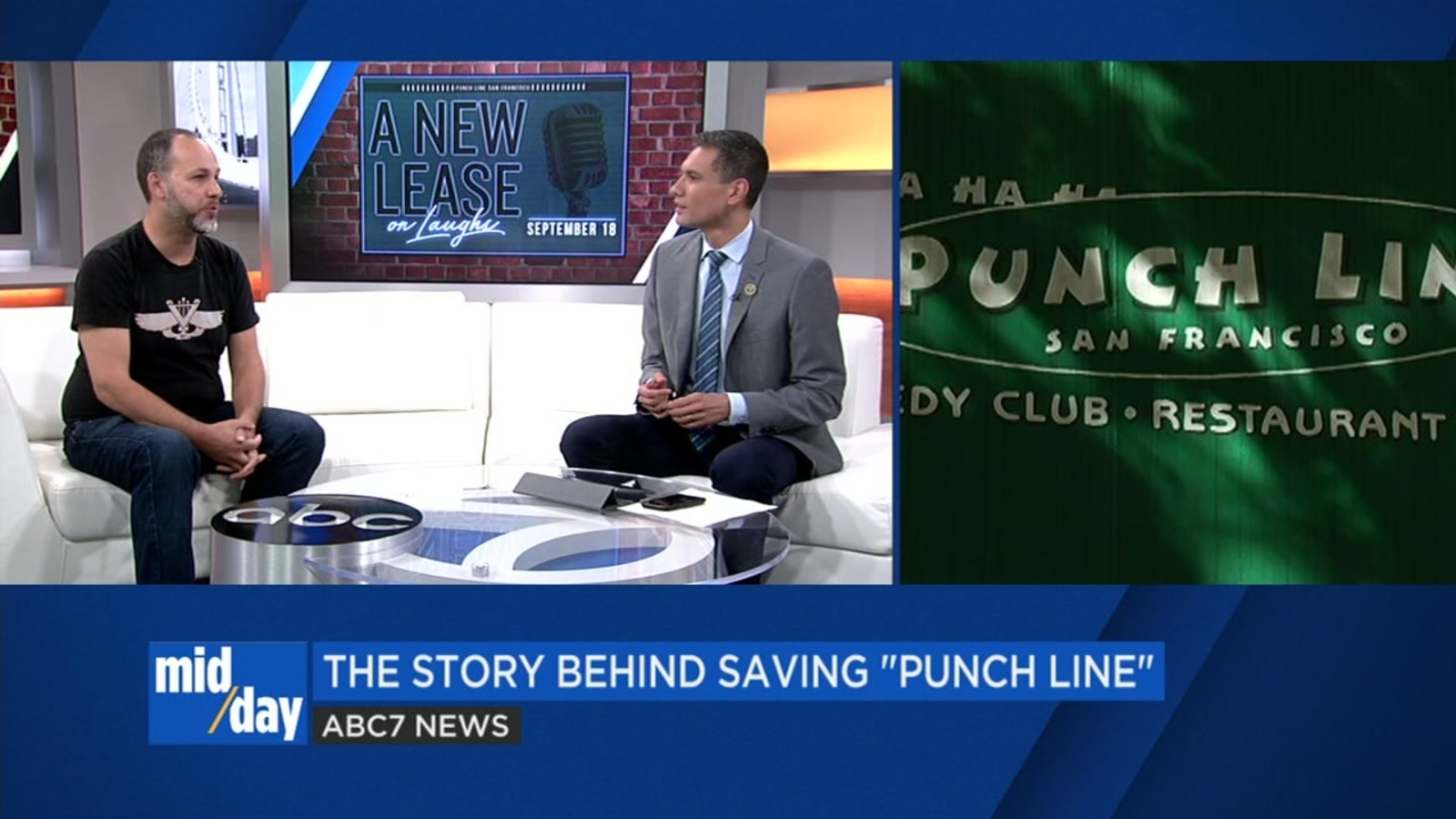 Comedian Nato Green, who helped save Punch Line comedy club in SF, chats with 'Midday Live'