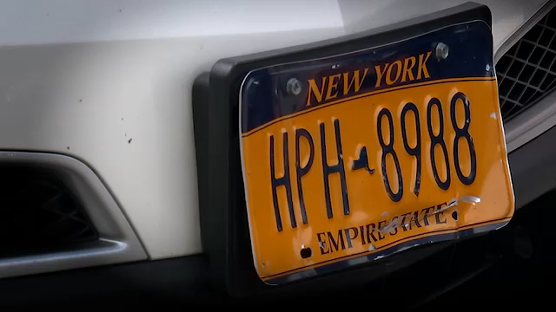 7 On Your Side appeals 'unreadable and mutilated' license plate ticket