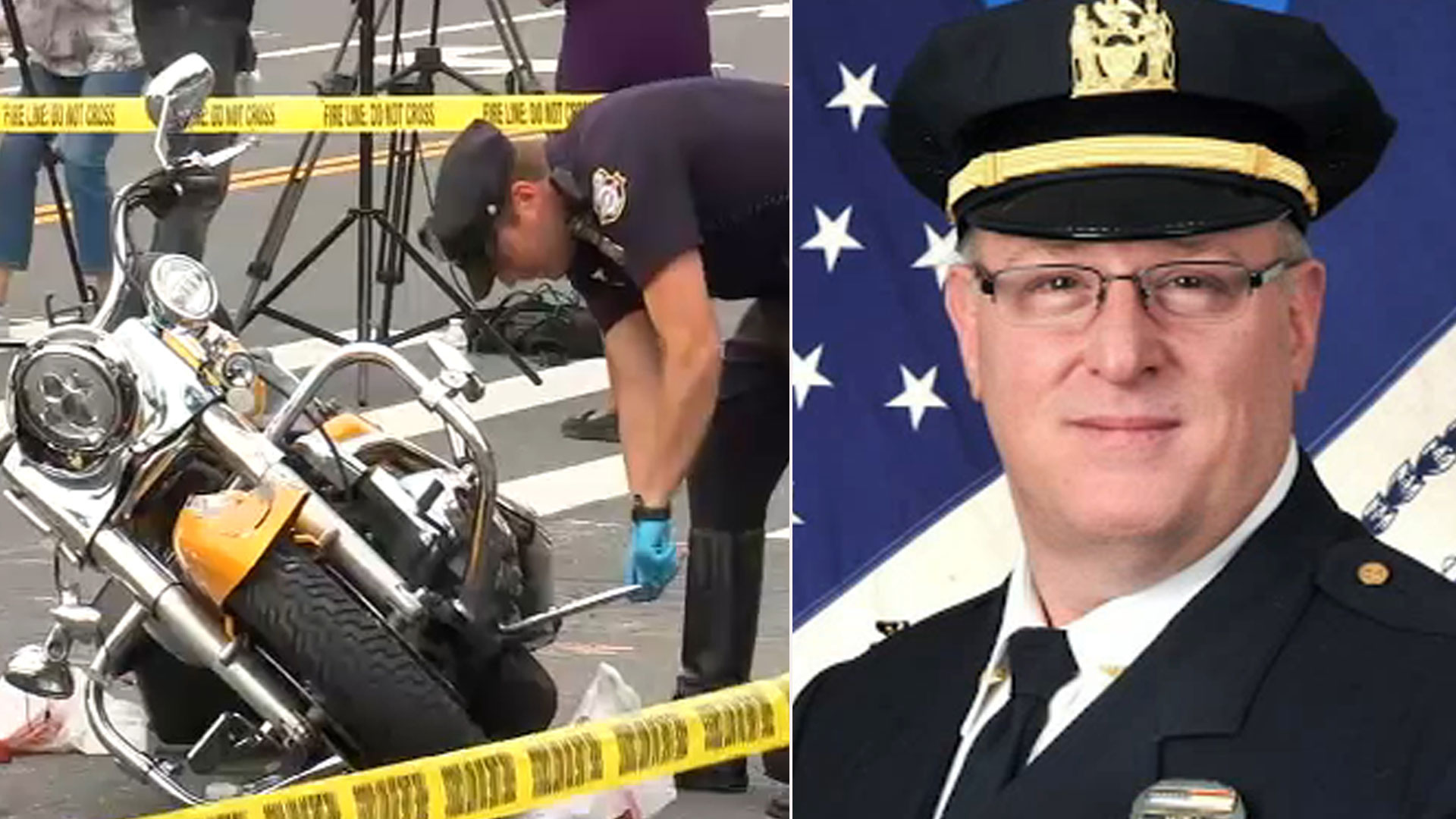 Off-duty NYPD officer dies after motorcycle crash in Pelham Bay