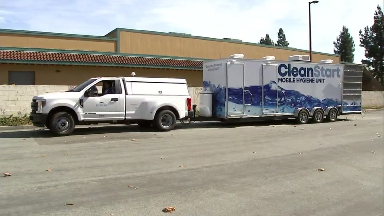 Mobile hygiene unit for homeless 'CleanStart' launches in East Bay