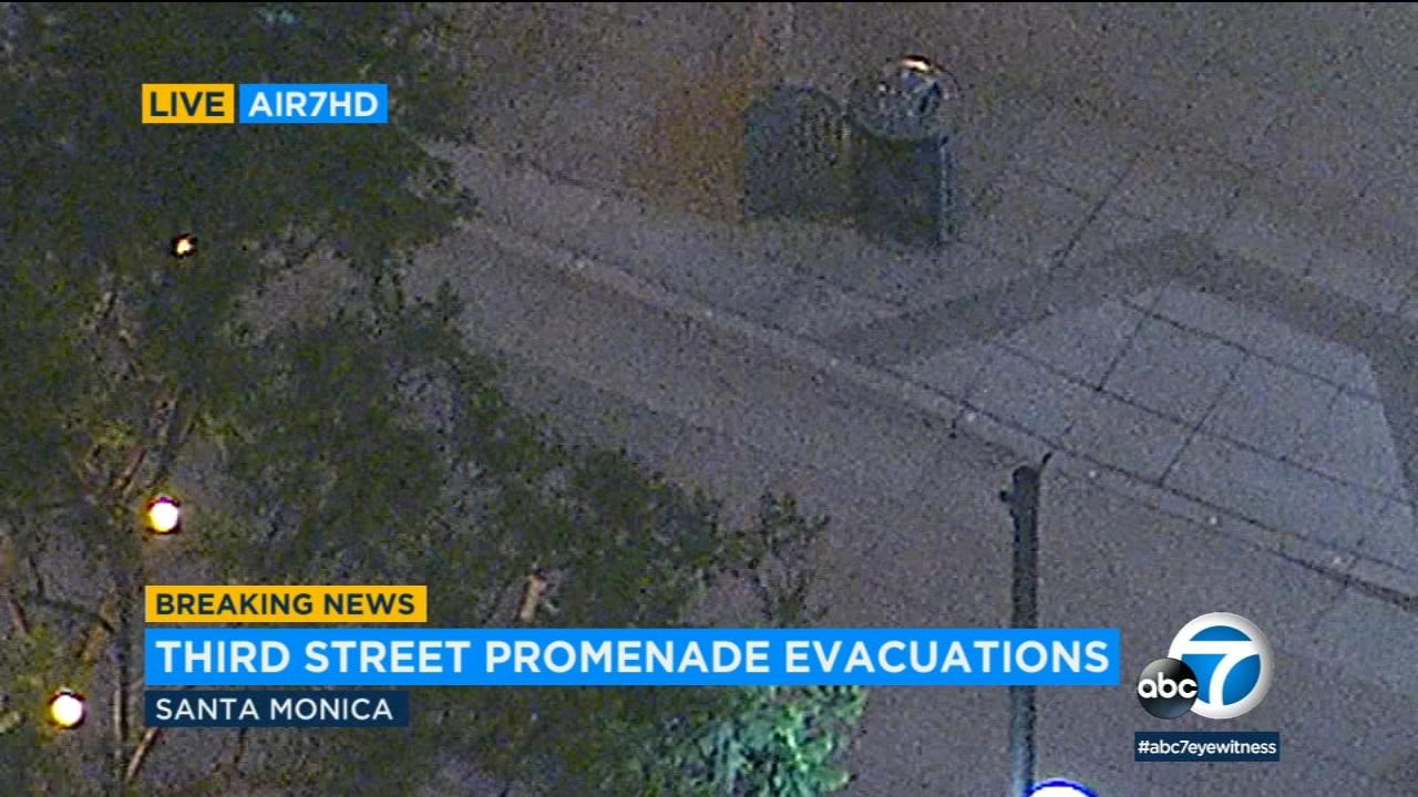 Santa Monica's 3rd Street Promenade deemed safe after suspicious package found