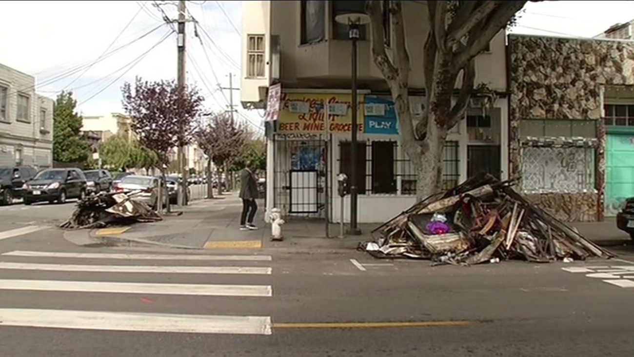 Family Rescued From Raging Fire At Apartment In San Franciscos