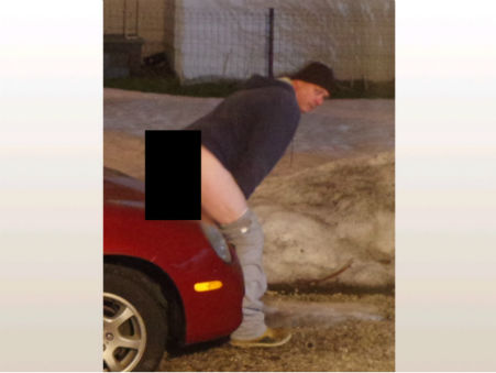 """<div class=""""meta image-caption""""><div class=""""origin-logo origin-image none""""><span>none</span></div><span class=""""caption-text"""">Police in Akron, Ohio are seeking the public's help in identifying a man they say has defecated on 19 cars. (Photo/Akron Police Department)</span></div>"""