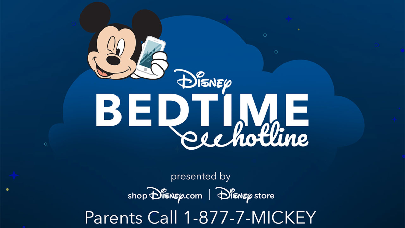 Disney Bedtime Hotline is back to lull your kids to sleep with a nighttime story