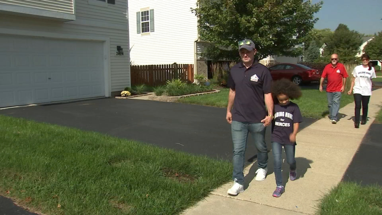 Marine veteran gifted new mortgage free home in Joliet