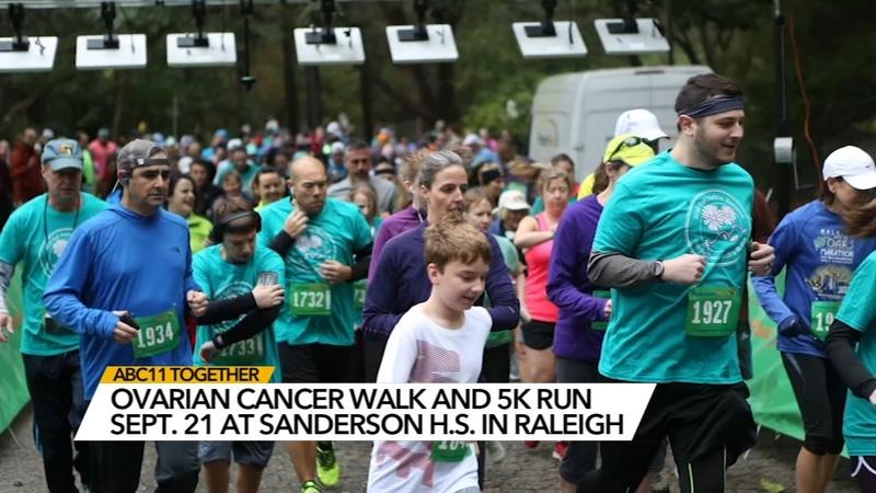 Gail Parkins Memorial Ovarian Cancer Walk 5k Run Abc11 Raleigh Durham