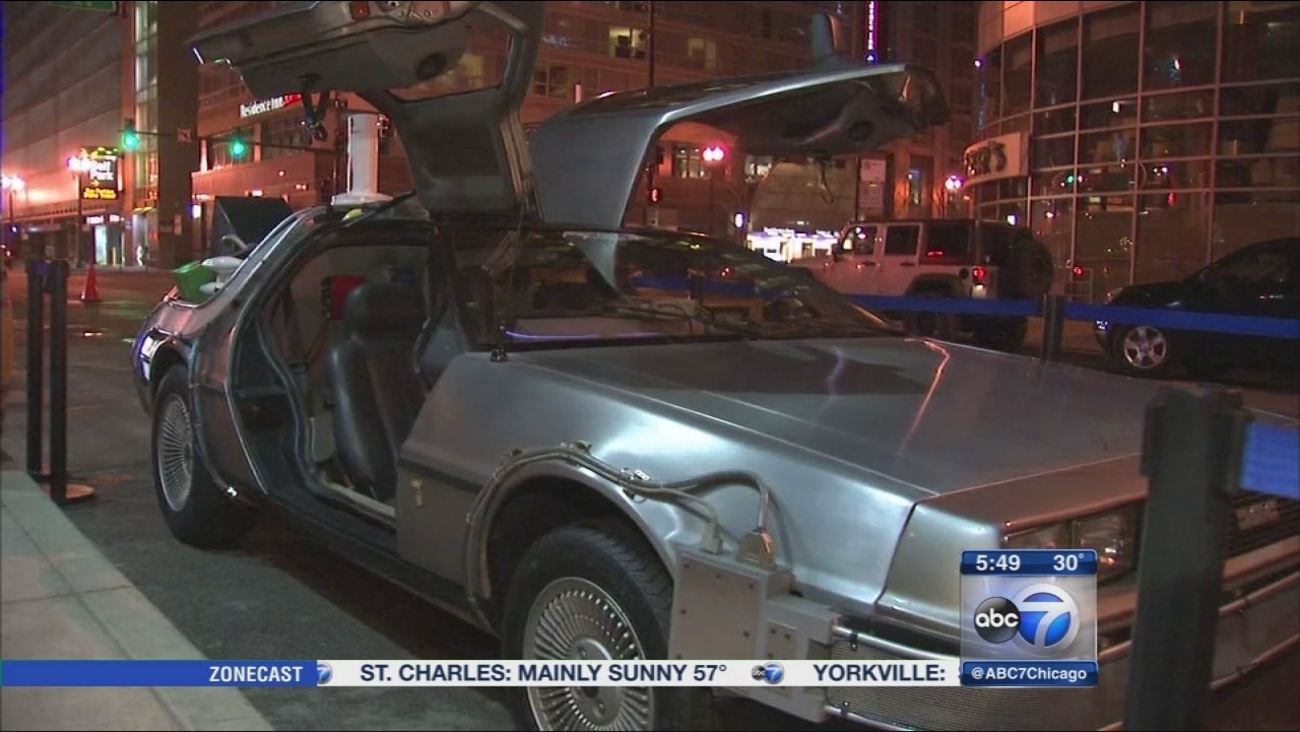 Toast to Harry Caray 'Back to the Future' themed