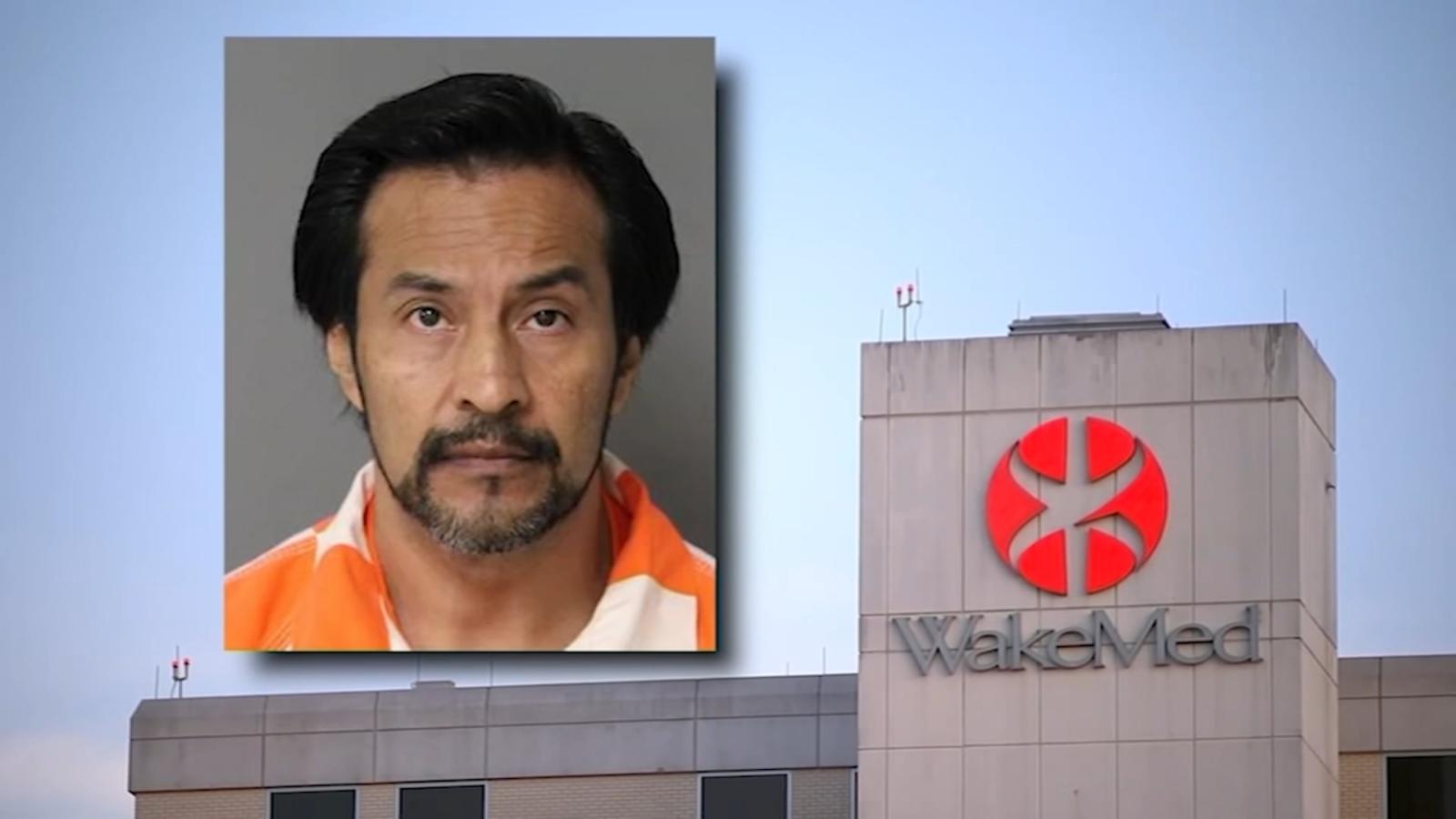 Durham man peeped on 6-year-old in WakeMed bathroom, warrants say