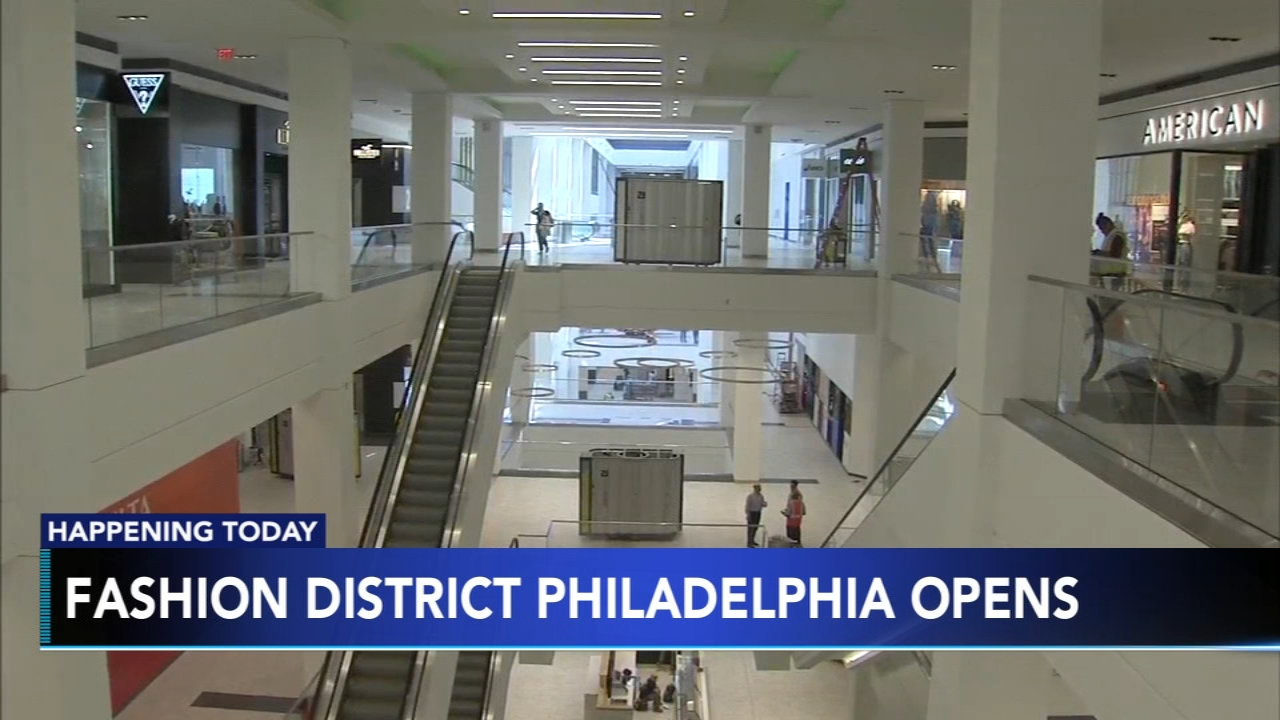 Fashion District Philadelphia opens in Center City Thursday