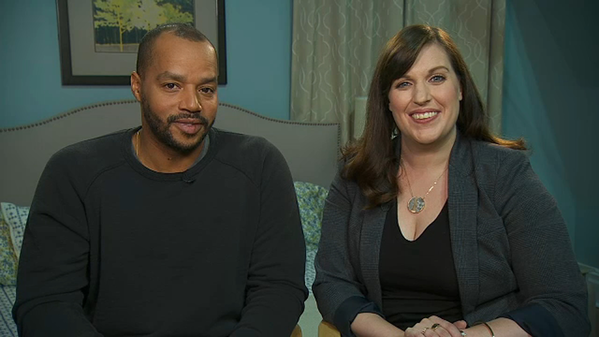 Allison Tolman and Donald Faison talk about their characters on 'Emergence'