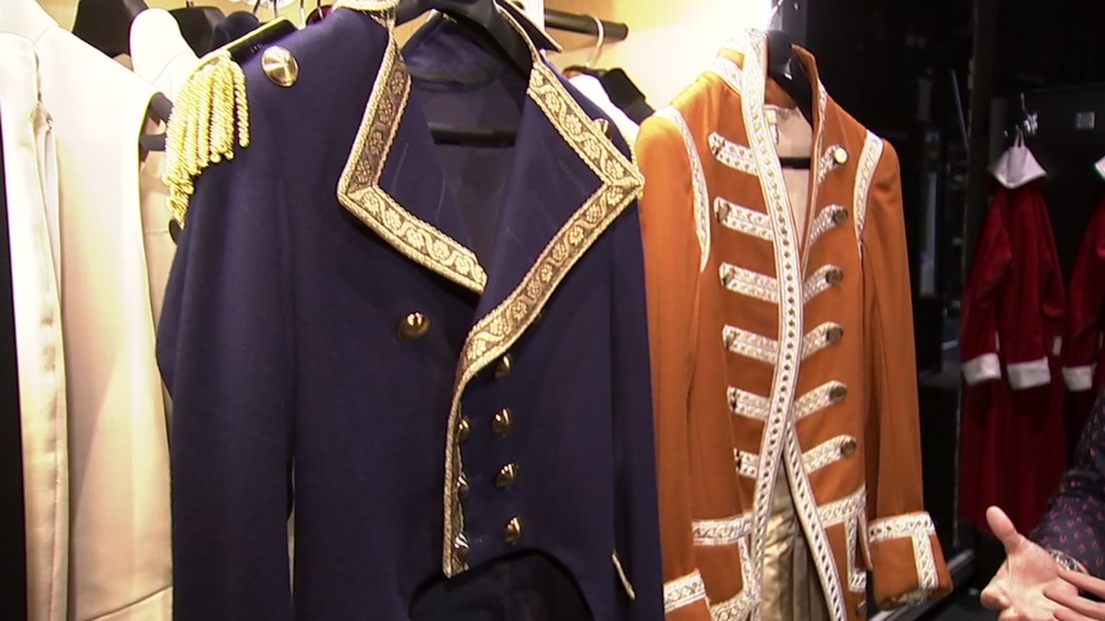 Get a peek at the costumes that bring 'Hamilton' to life