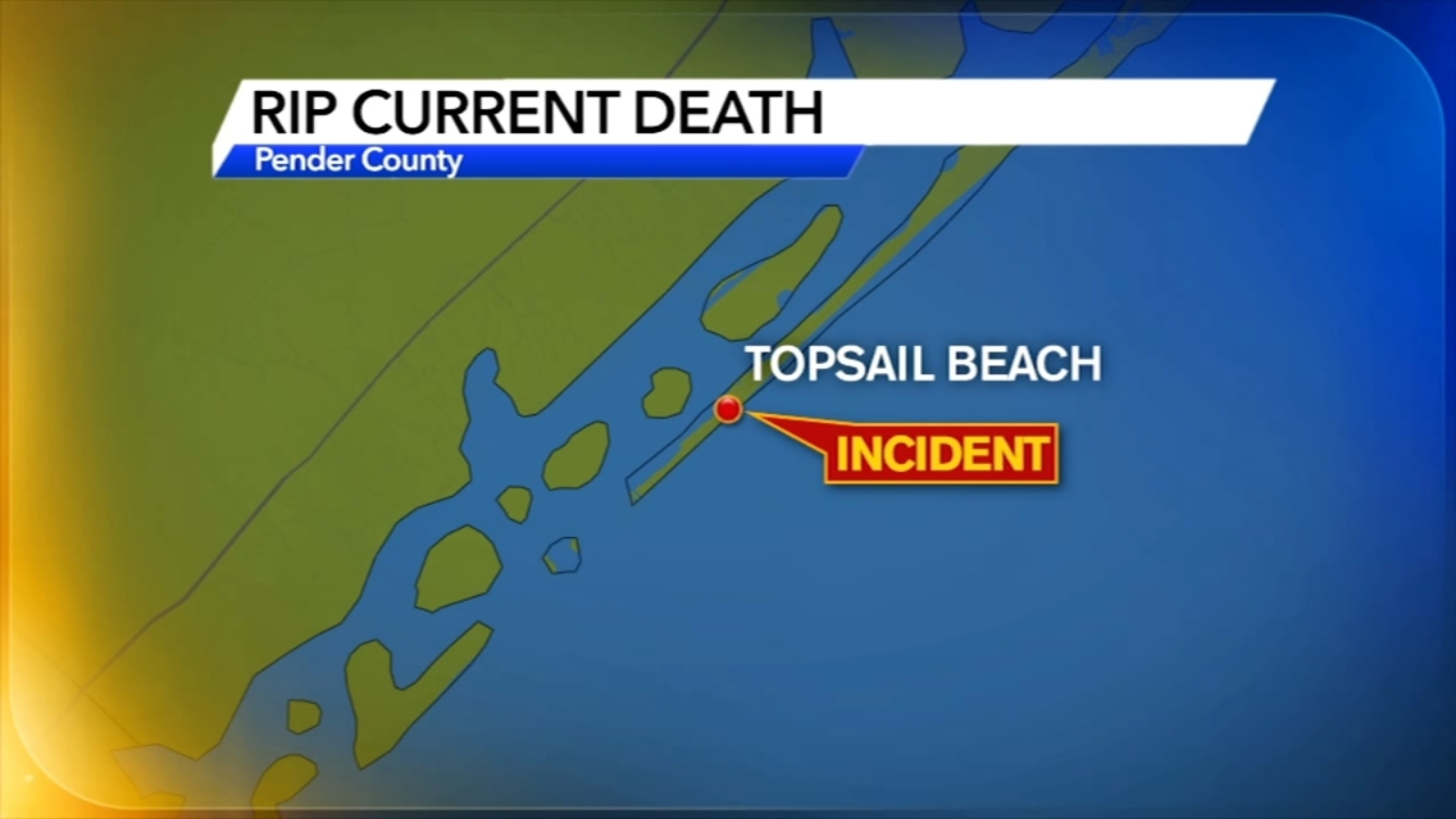 62-year-old man drowns after getting caught in rip current at Topsail Beach