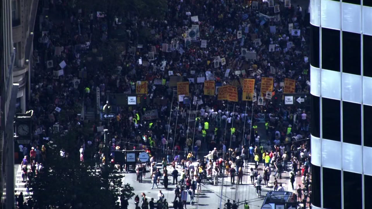 Climate Strike: Thousands of students protest in Bay Area, around world