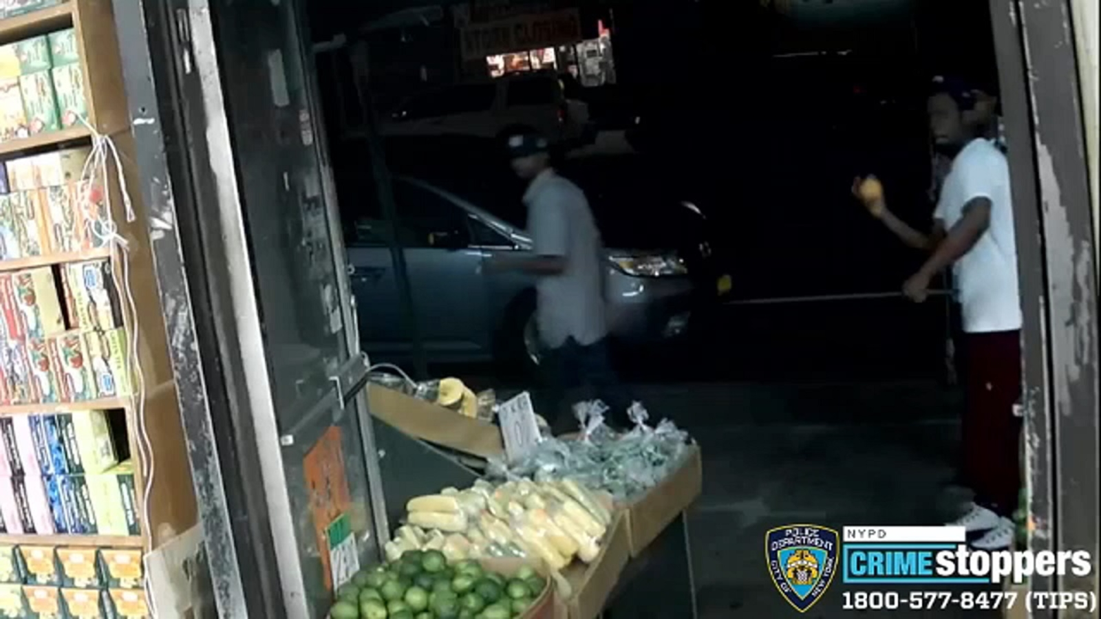 Man seen throwing fruit wanted in attack of Bronx grocery store worker