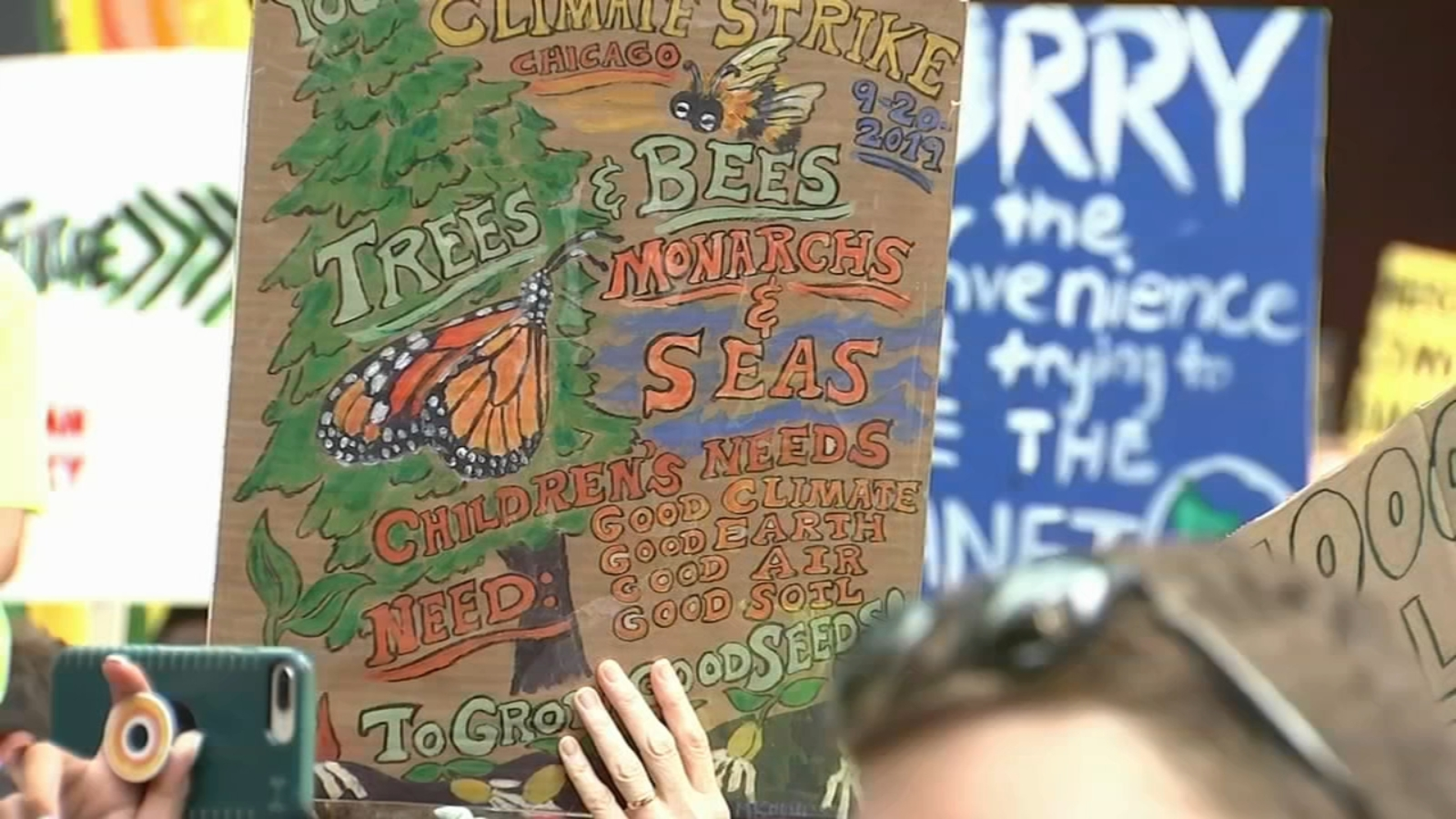 Chicago climate strike: Youth join global climate change call for action