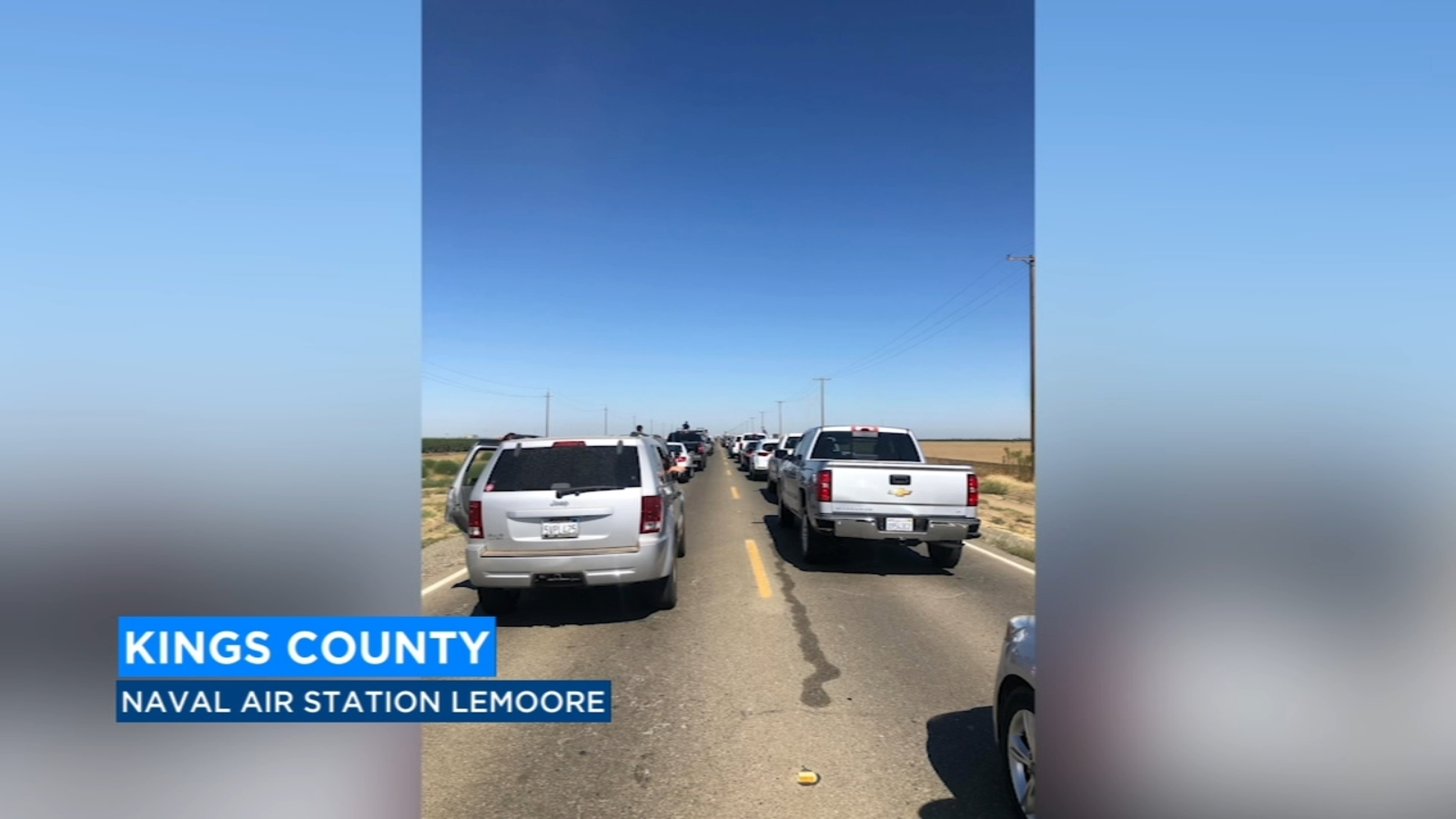 NAS Lemoore officials recommend early arrival, patience after Blue Angels Air Show traffic issues