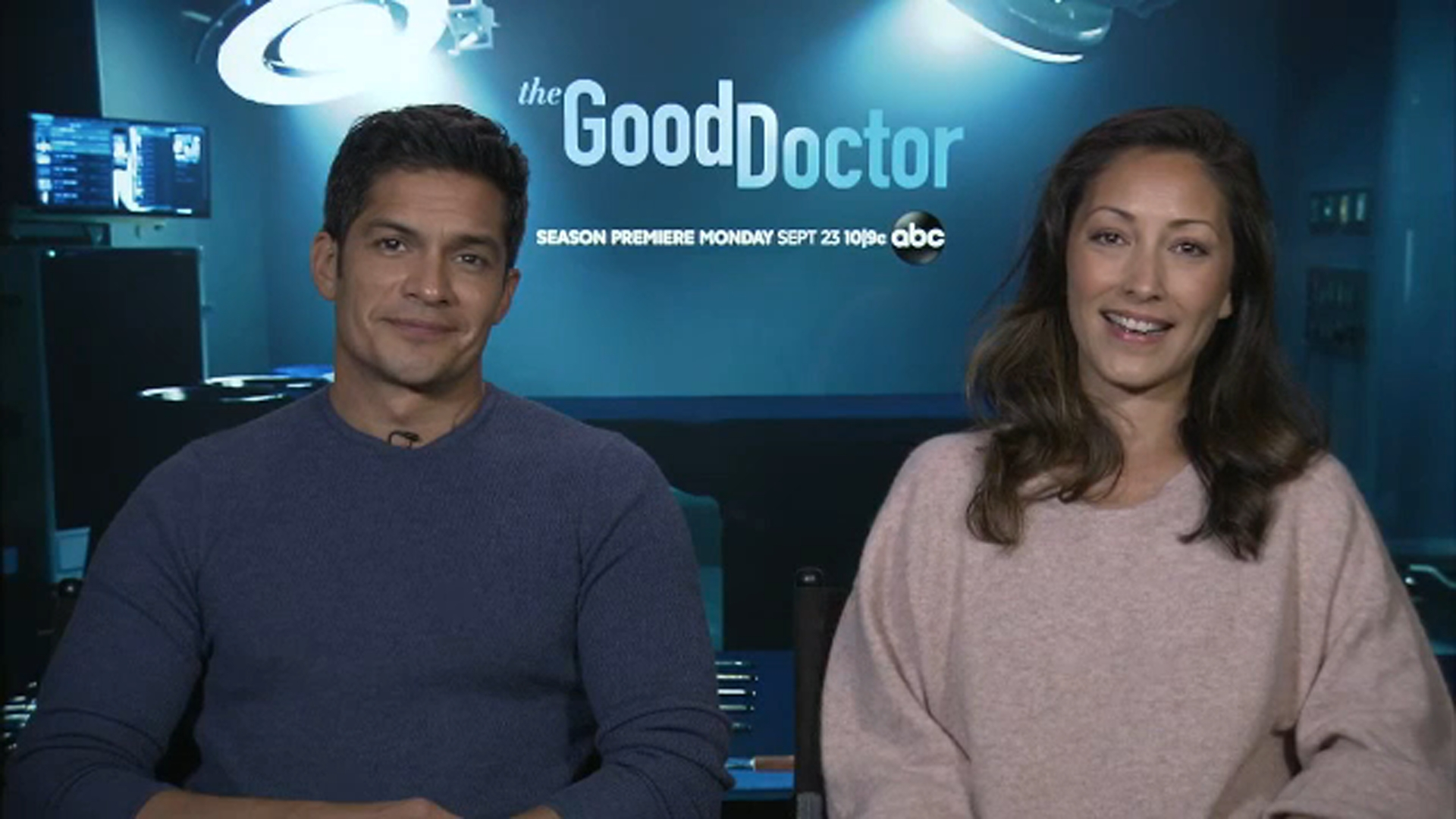 'The Good Doctor' stars Gonzalez, Chang talk about their characters' relationship