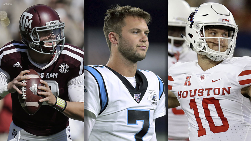 Kyle Allen What To Know About Houston And Texas A M Alum Turned Nfl Starter Abc13 Houston