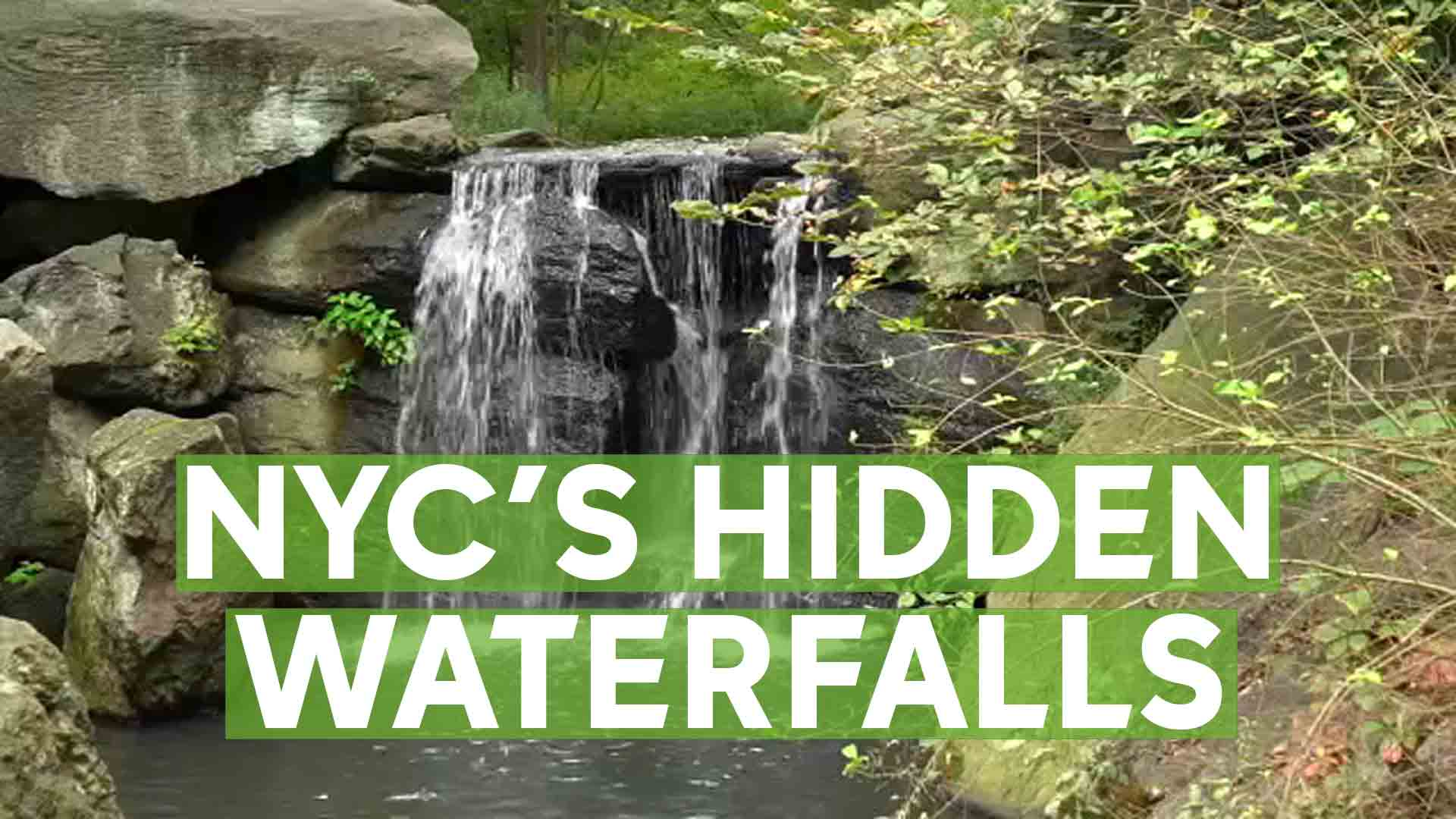 Central Park's hidden waterfalls in North Woods allows escape from ...