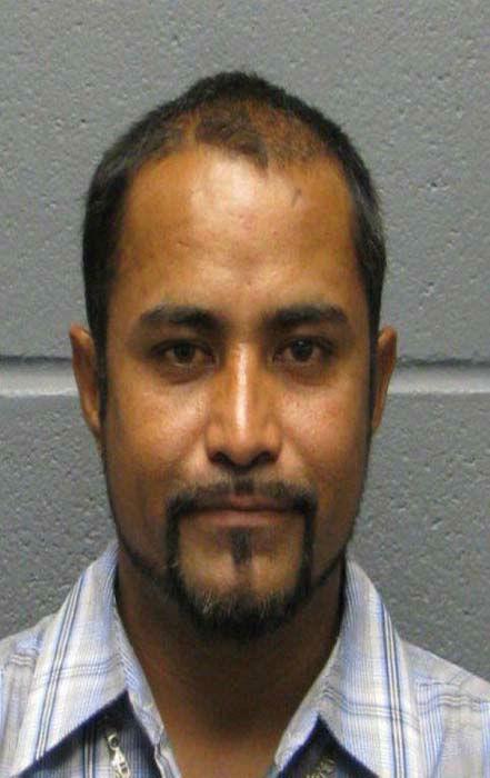 "<div class=""meta image-caption""><div class=""origin-logo origin-image none""><span>none</span></div><span class=""caption-text"">Juan Duron-Velazquez, Hispanic Male, DOB 03-12-80, 5'6"" / 165 lbs, Brown eyes / Brown hair, Aggravated Sexual Assault of a Child (KTRK Photo/ Harris County Sheriff's Office)</span></div>"