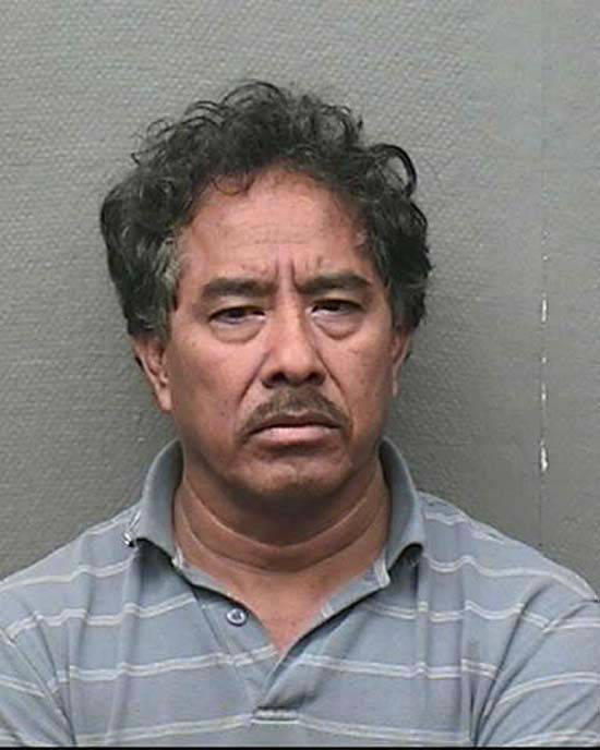 "<div class=""meta image-caption""><div class=""origin-logo origin-image none""><span>none</span></div><span class=""caption-text"">Rodrigo Robles, Hispanic Male, DOB 3-13-56, 5'5"" / 140 lbs, Brow eyes/Brown hair, Aggravated Sexual Assault of a Child (KTRK Photo/ Harris County Sheriff's Office)</span></div>"