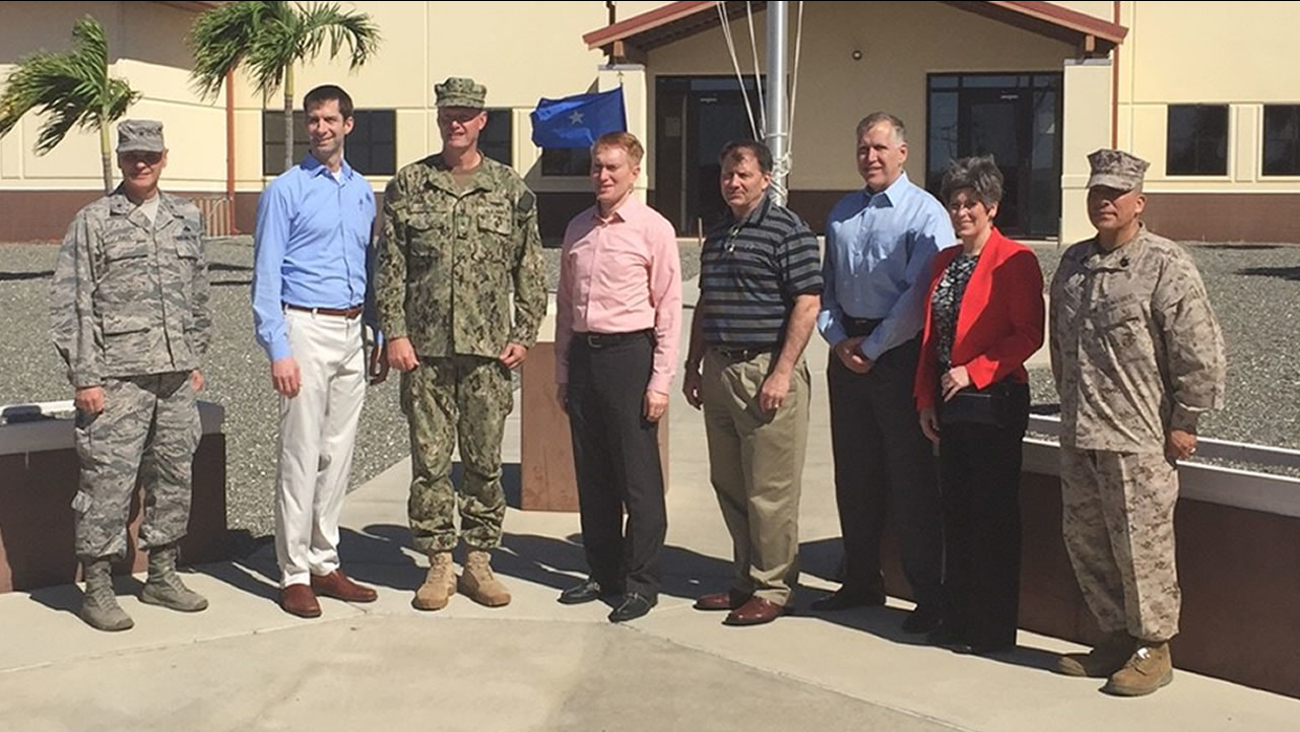 Sen. Thom Tillis visits U.S. Naval Station at Guantanamo Bay
