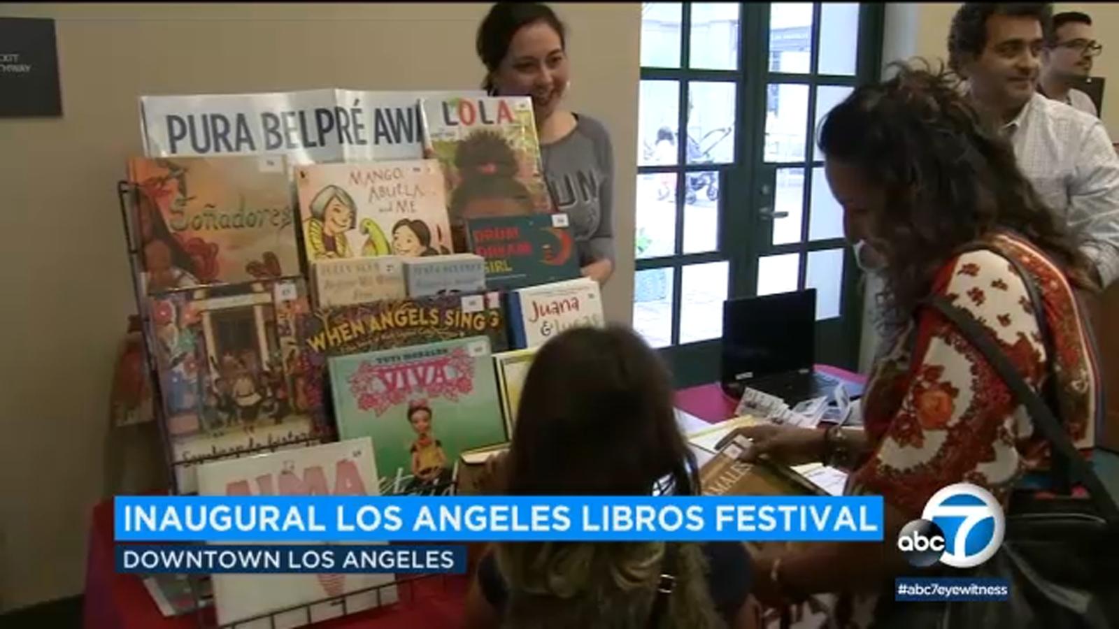Inaugural Los Angeles Libros Festival celebrates bilingualism, diversity