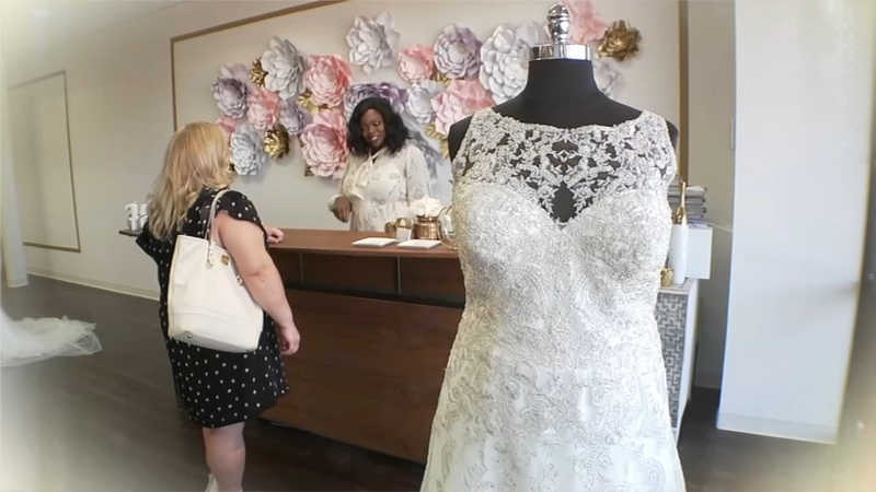 Shop makes brides of every size feel confident