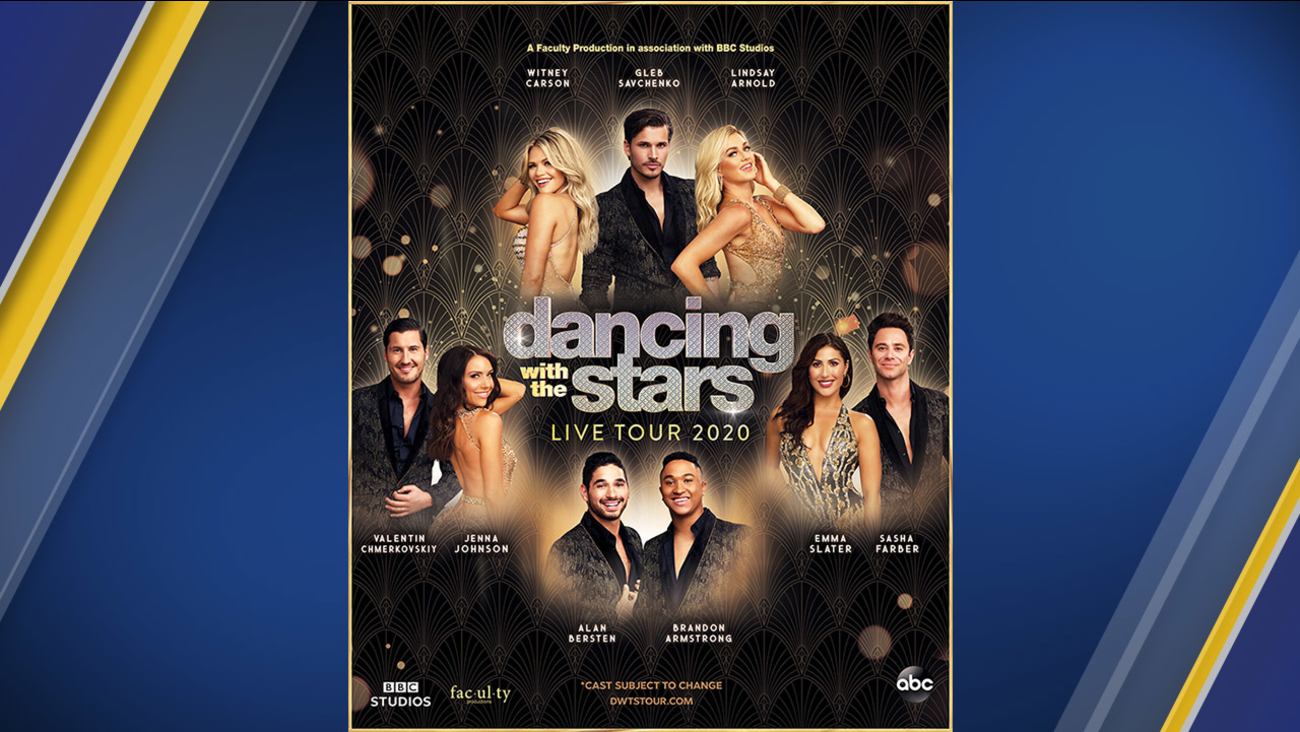 Dancing With The Stars Live Tour 2020 Dates Announced Abc7 New York