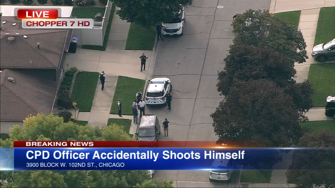 CPD officer accidentally shoots self in buttocks, upper leg