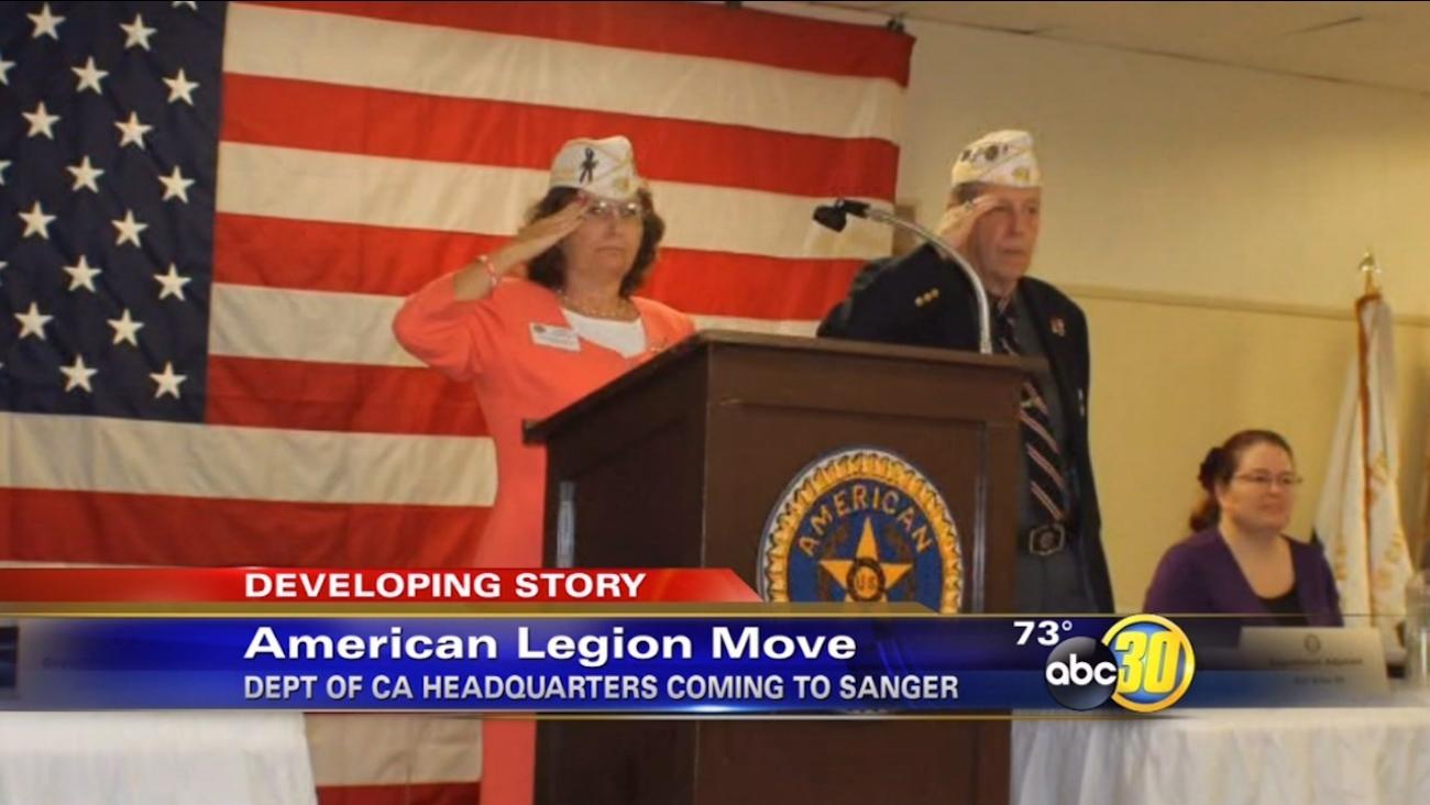 American Legion's California headquarters moving to Sanger