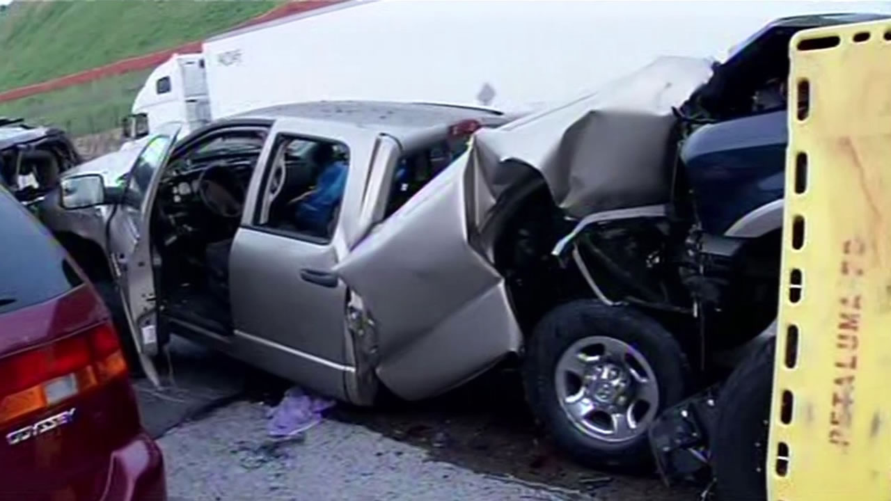 CHP investigates deadly pileup on Interstate 580 near Livermore