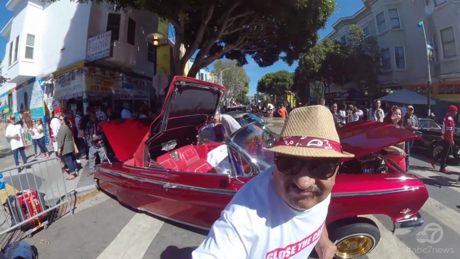 The Lowdown on Lowriders at Fiesta de las Americas Car Show
