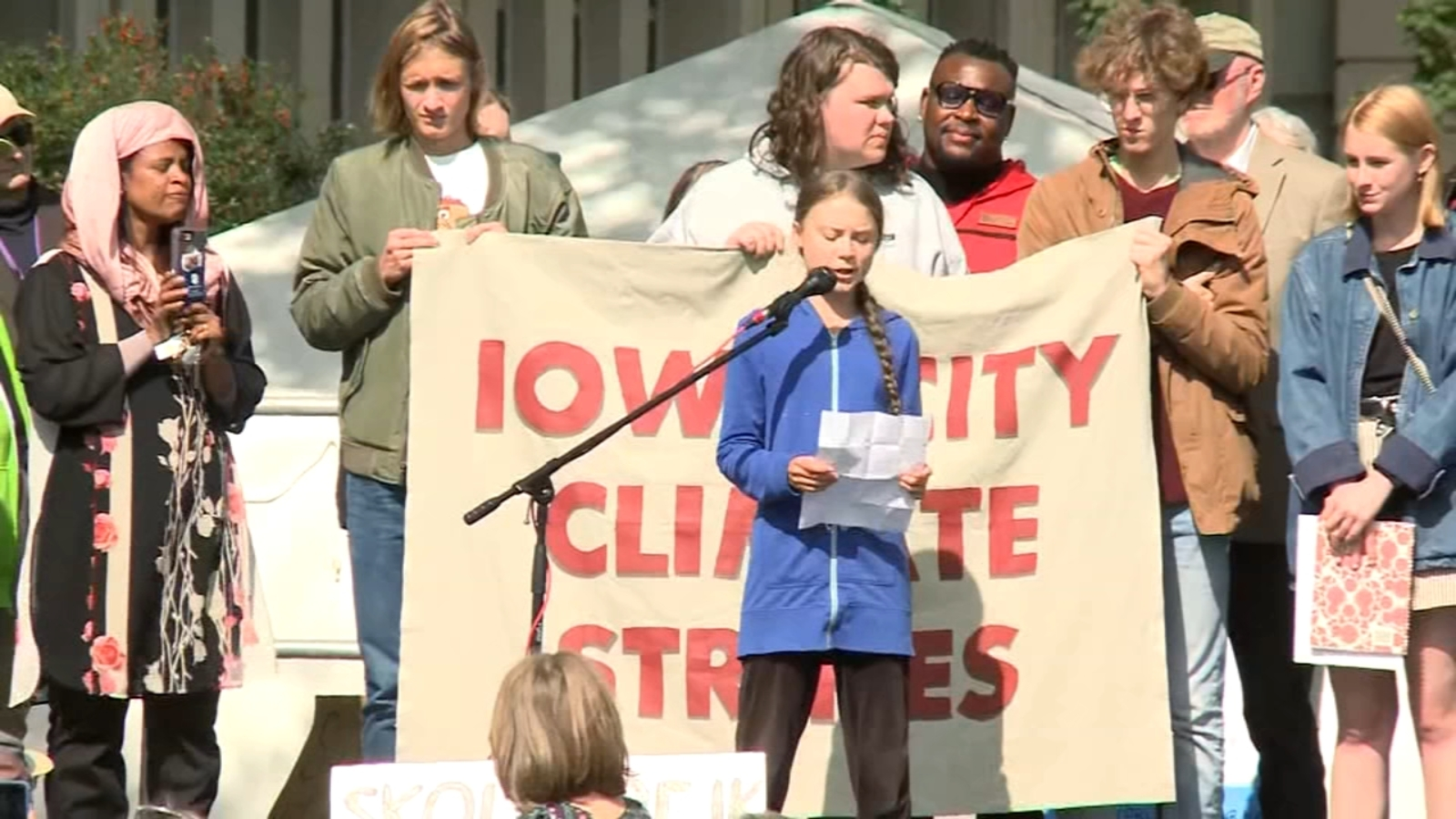 Teacher on leave for 'sniper rifle' comments about Greta Thunberg