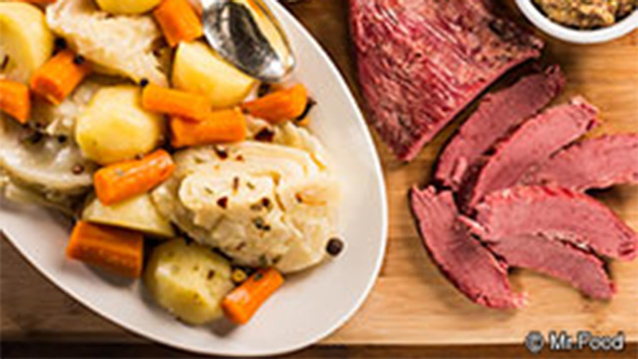 Fastest Corned Beef & Cabbage