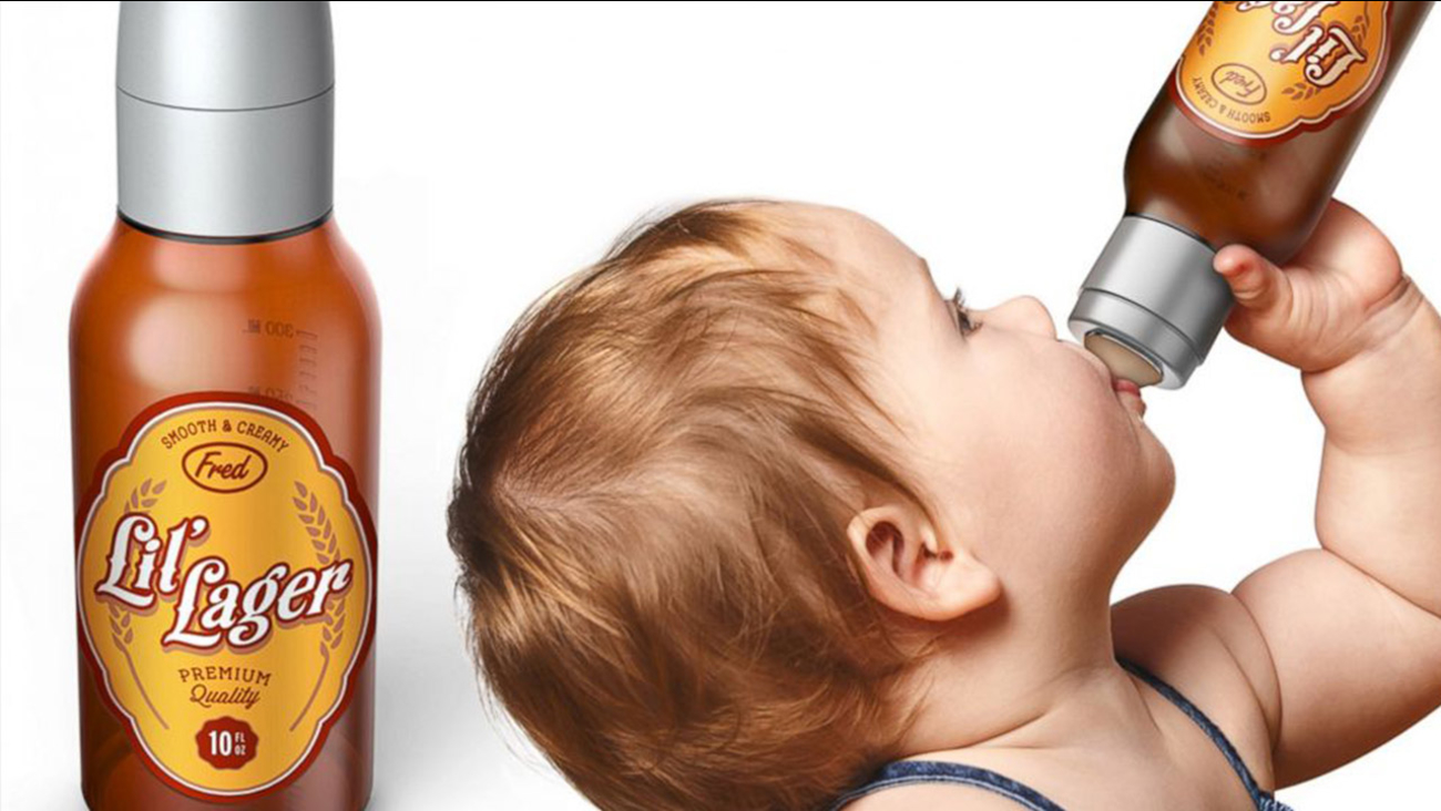 Controversy Brews Over Baby Lil Lager Baby Bottle For
