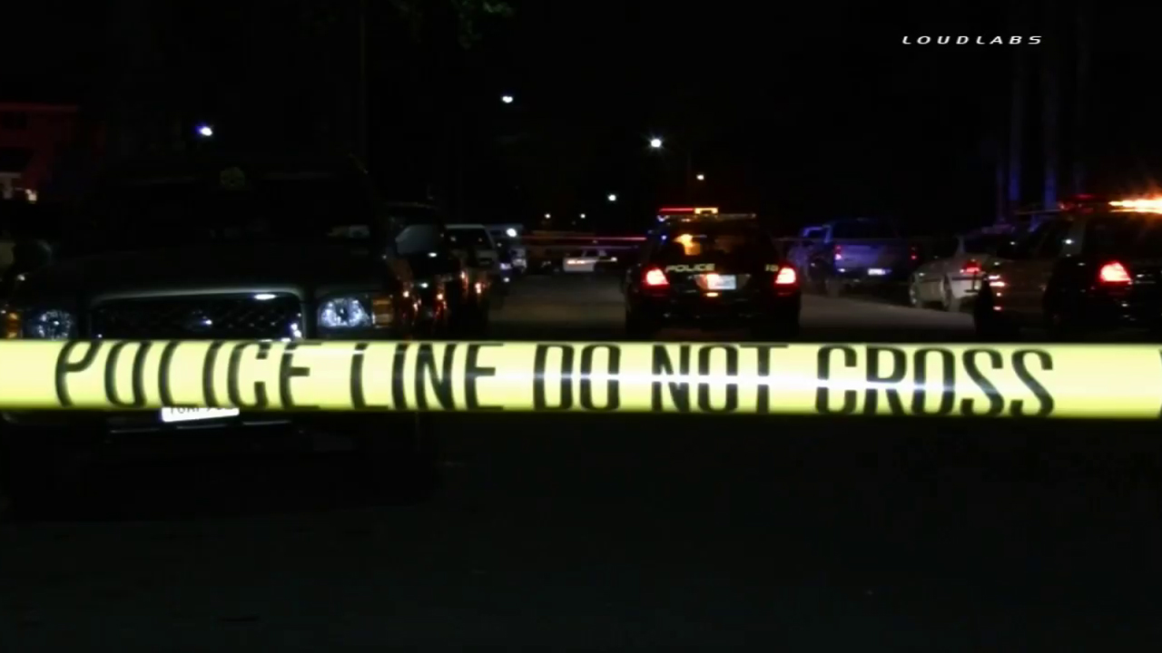 Pomona police investigate the fatal shooting of a man who turned up and died at an acquaintance's home on Monday, March 16, 2015.