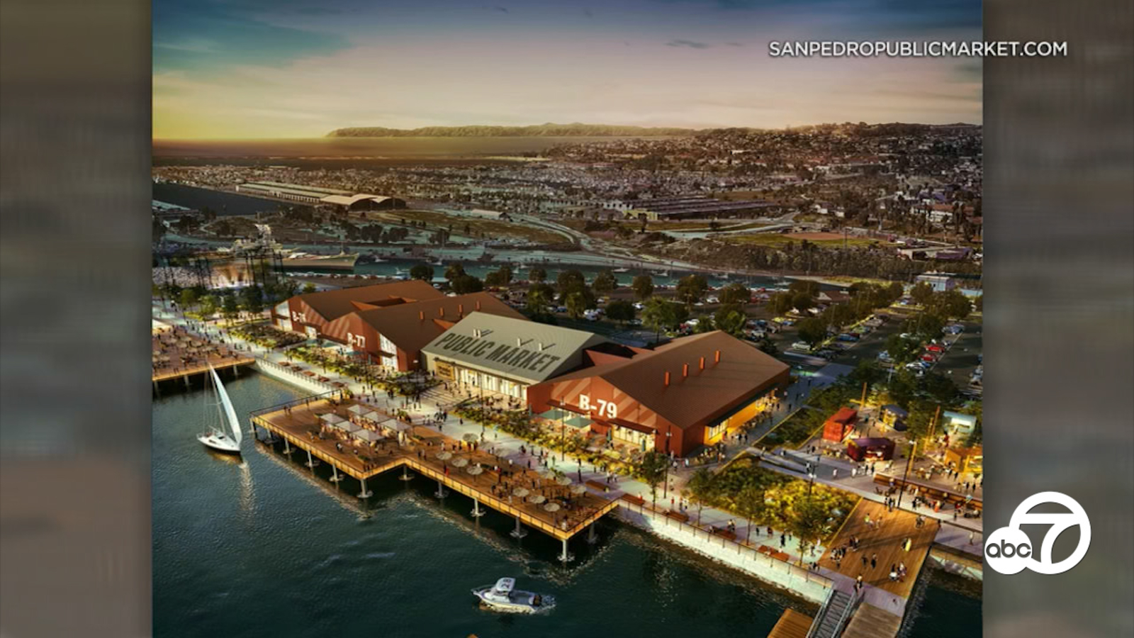 Eyewitness This: Plans advance for 42-acre waterfront market in San Pedro